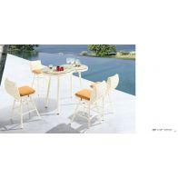 בר לגינה - חרצית: שולחן+4 כסאות