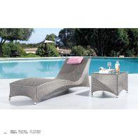 סט לגינה - רומה: שולחן+מיטה