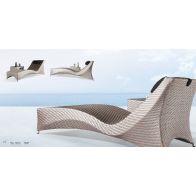 סט גינה - זיגזג: שולחן+מיטה